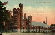NY State Armory Ogdensburg, NY
