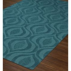 Dalyn Tones TN4 Teal Rug | Contemporary Rugs