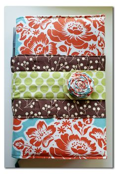 Need t make a bible cover for my new bible. My old one doesn't fit. I am thinking something like this.. but I need to add some handles, had to juggle it otherwise with my two year old.