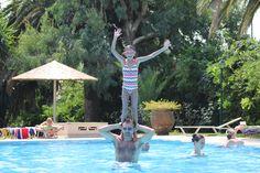 Having fun in the pool! Photo credits: Michelle Watkins