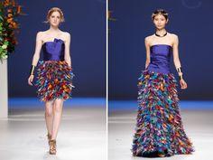 Colección 2013 de vestidos de fiesta de Carla Ruiz