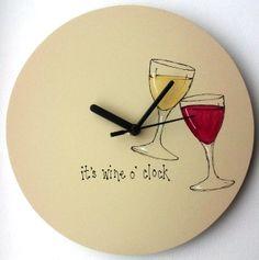 it's wine o' clock somewhere