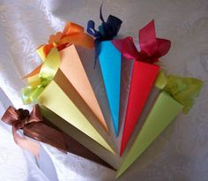 Plain Paper Favor Cones Boxes for Wedding Favors, Baby Showers, Chocolate Packaging $1~$10 Candy Packaging, Chocolate Packaging, Wedding Candy, Wedding Favors, Sweet Hampers, Box Supplier, Paper Cones, Favor Boxes