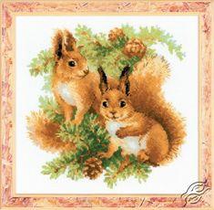 Squirrels - Cross Stitch Kits by RIOLIS - 1491