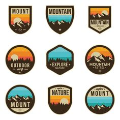 Expedition logo badges by lovelogo on @creativemarket