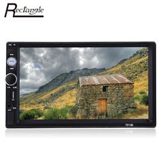 Rectangle 2 Din Car Radio MP5 Player 7 Touch Screen Bluetooth FM Audio Video Auto Radio For Car With Remote Control (32747099082)  SEE MORE  #SuperDeals