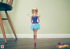la cuisine du graphiste: Quand Mattel utilise Barbie