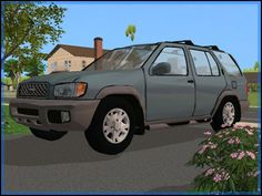 Fresh-Prince Creations - Sims 2 - Nissan Pathfinder