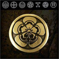 Samurai/Family/Japanese/Crest/Brass/Concho   http://item.rakuten.co.jp/auc-wildhearts/cc2221/