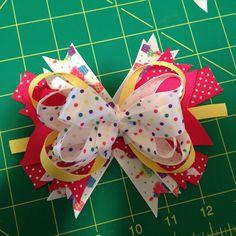 Bday stacked bow!