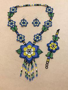 Beads Beaded Earrings, Beaded Bracelets, Necklaces, Handmade Beaded Jewelry, Crochet Accessories, Beaded Flowers, Perler Beads, Maya, Jewelry Collection