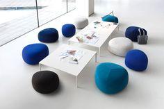 10 shades of blue | Kipu ottoman, Andersen & Voll, Lapalma, 2016
