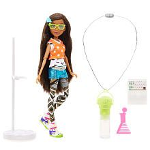 Project Mc2 Doll with Experiment  Brydens Glow Stick Necklace