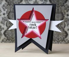 Rock Star Birthday Card
