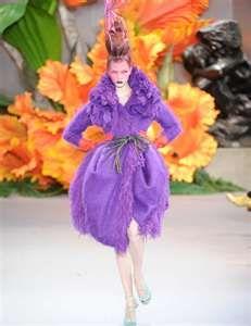 Purple Haute Couture