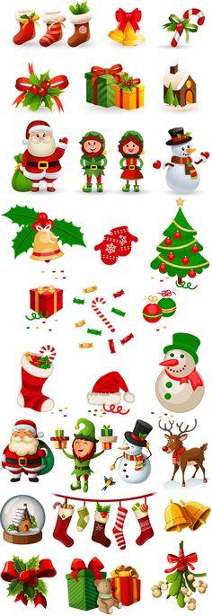 Блог Колибри: Christmas Various Icons