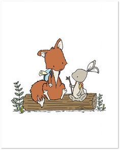 Hey, I found this really awesome Etsy listing at https://www.etsy.com/listing/206332703/woodland-nursery-art-lets-be-adventurers