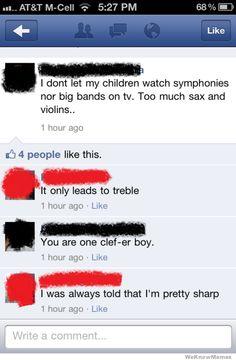 Musical Puns