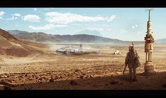 ArtStation - Star Wars, Nicolas Pierquin