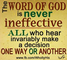 Like the quote, haven't looked at the fb page. God's word