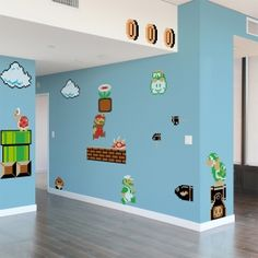 Super Mario Bros. Re-Stik Wall Decals