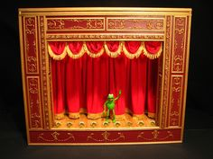 this guy built a custom Muppets theater. awesome.