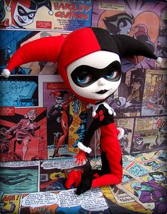 Can some one please customize this Harley Quinn doll for me please!!