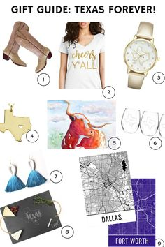 Texas Themed Gift Guide   Presents for Texans   Texas Forever   Gifts for Texas Lovers