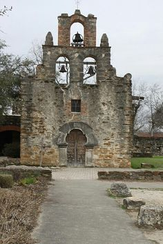 Mission Espada, last mission on the mission trail in San Antonio.