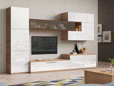 Decor Units: 25 Awesome Ideas to Make Modern TV Unit Decor in Your Home Living Room Tv Cabinet, Living Room Wall Units, Living Room Tv Unit Designs, Bedroom Tv Unit Design, Tv Unit Decor, Tv Wall Decor, Modern Tv Wall Units, Wall Units For Tv, Modern Tv Cabinet