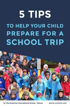 The American International School Vienna share their best tips to help students (and parents!), discover how to help your child prepare for a school trip. Image Tips, International School, Parenting Hacks, Your Child, Parents, Student, Education, American, World
