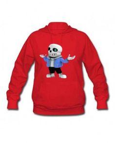 RedFemale Undertale Sans Sweatshirt