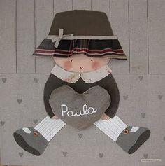 Cuadro infantil personalizado para Paula