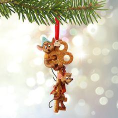 jaq and gus disney christmas ornaments