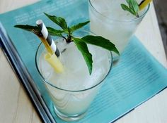 Thai Basil and Lemongrass Mojito