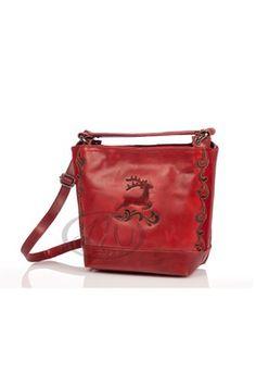 hier online bestellen: Spieth & Wensky  Trachtenhandtasche - Trachten Handtasche - ARLON - rot Taschen, mit denen Sie sich sehen lassen können ... Das perfekte Accessoire! Exklusive Trachtenhandt