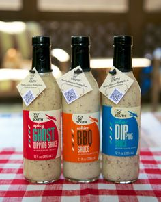 Fly By South White BBQ Sauce #glutenfree, no mayo, delicious!
