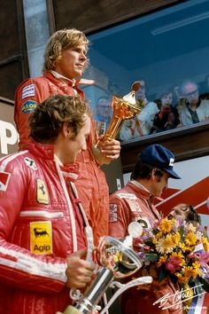 Niki Lauda and James Hunt F1 Racing, Road Racing, Le Mans, Grand Prix, Nascar, F1 Motor, James Hunt, Gilles Villeneuve, Racing Events