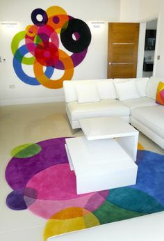 Holey Bubbles - Contemporary Modern Wall Hangings by Sonya Winner - Wall Decoration