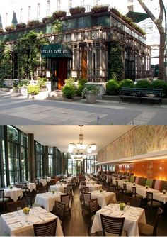 Bryant Park Grill, where Eva has lunch with Mark and Steve #Crossfire