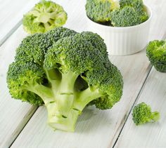 Broccoli - good food for pear shaped body type