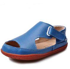 966b393bccc1 2015 new arrival children sandals boys sandals fashion kids sandals genuine  leather breathable children shoes boys shoes