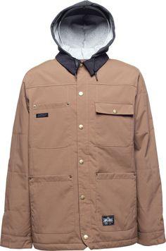 L1 Folsom Snowboard Jacket Chocolate