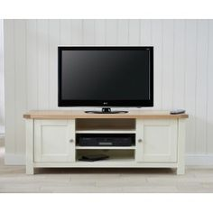 Sandringham Oak & Cream TV Unit