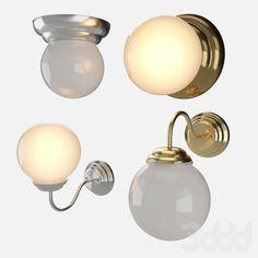 3d модели: Бра - Светильники в ванную Lillholmen Ikea