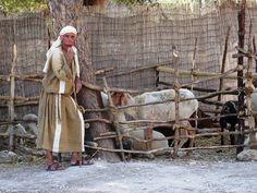 Hirte im Nazareth Village Israel Nazareth Village, Bethlehem Israel, Bible Museum, Journey To Bethlehem, Nativity Costumes, The Bible Movie, Bible Images, Jewish History, Bible