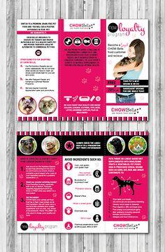Brochure concepts for CHOWBella Pets (www.chowbellapets.com) - by Limen