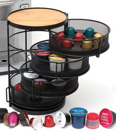 For embossing powder & glitter?  Four-Tier Universal Coffee Pod Tower   Daily deals for moms, babies and kids