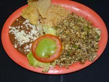 Machaca from Pico Pica Rico Restaurant in Los Angeles #Food #Machaca #Restaurant forked.com
