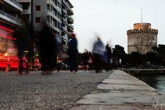 White Tower - Thessaloniki, Greece    ©VLP - Velvet Lies Productions    #Thessaloniki #WhiteTower #Cityscape #LongExposure #Pentax#PentaxK500 #Greece #macedonia #makedonia #μακεδονια Thessaloniki, Macedonia, Greece, Tower, Street View, Velvet, Greece Country, Rook, Computer Case